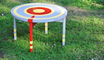 Easy DIY Upcycled Table for Kids Playroom