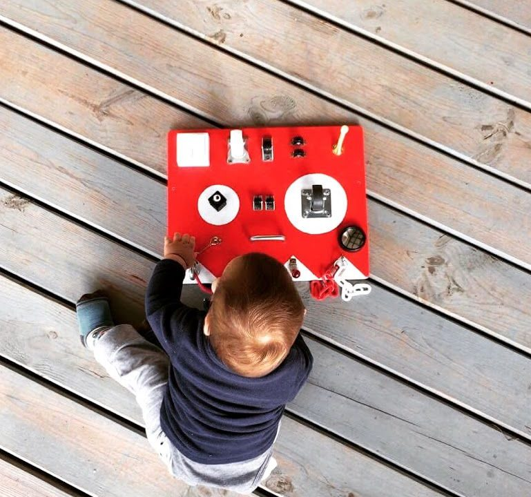 best toys for one-year-old busy board