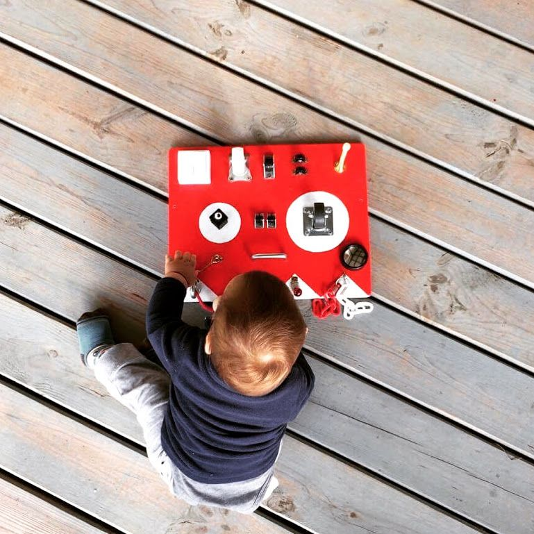 Buddy Busy Board: One of the Best Toys for One-year-old