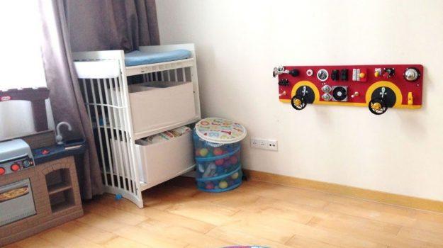 "bright busyboard playroom toddler toys what to get for toddler room 忙板 ビジーボード ""幼児学習ボード 幼児ビジーボード 赤ちゃんの細かい運動能力を練習するための多機能教育玩具、それにより、赤ちゃんはより良い手と目の調整を行うことができます "" 바쁜 보드"