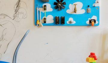 Vibrant Jiro Busyboard