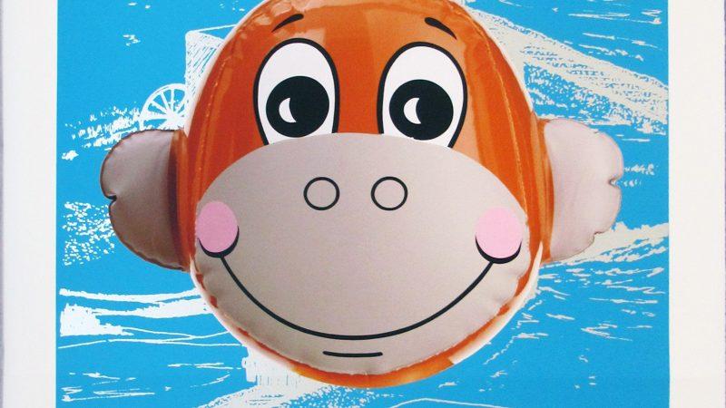 Monkey_Train_jeff_koons_art_for_kids
