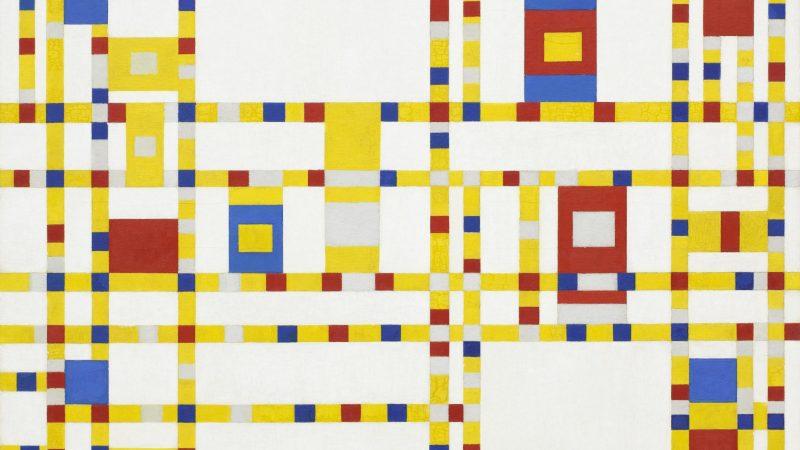 Piet_Mondrian,_1942_-_Broadway_Boogie_Woogie
