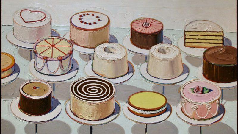 Wayne-Thiebaud_Cakes_1963