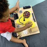 heart baby busy board life skills teaching