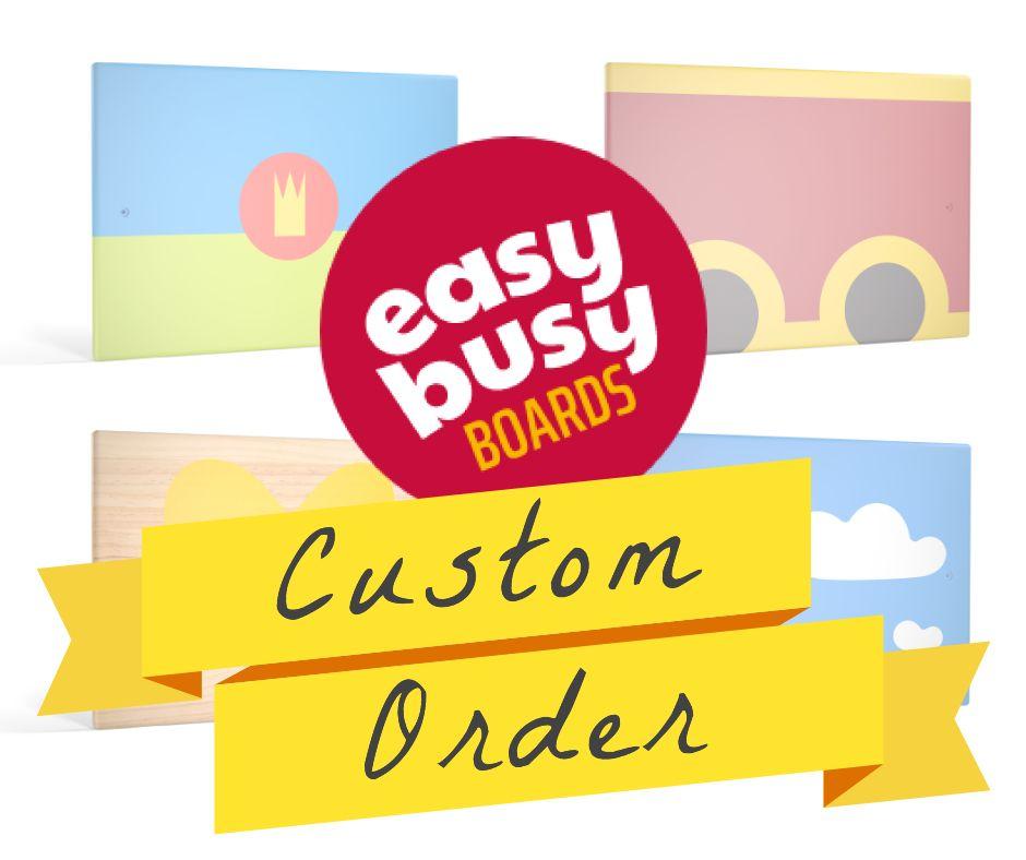 make basy board buy busy board custom order busy board