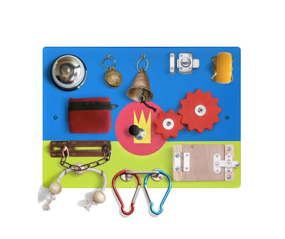 busy board for baby royal kingdom unicorn