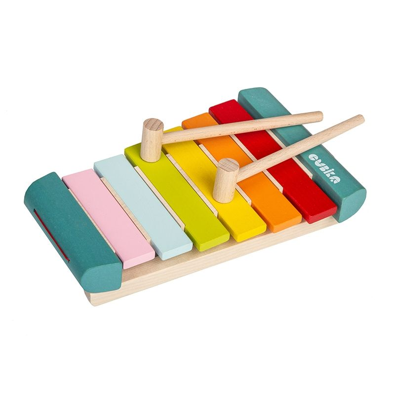 wooden xylophone toy for babies and toddlers